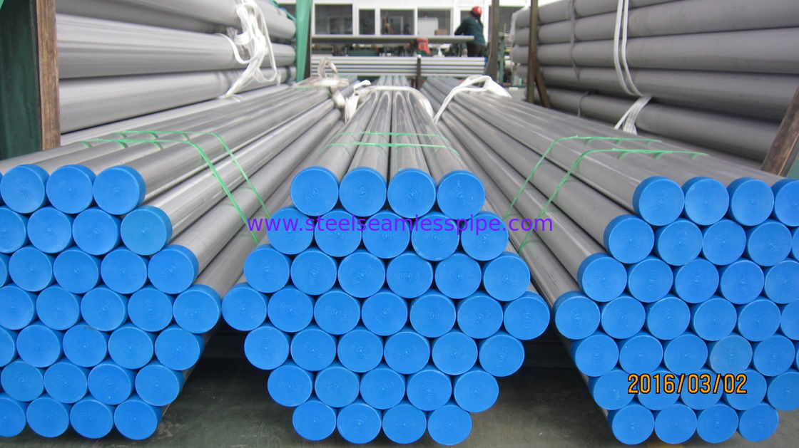 Stainless Steel Welded Pipe,JIS G3459 SUS316L , SUS304L, 125 A , 150A ,  SCH 40 , 6M Pickled and Annealed, Plain End