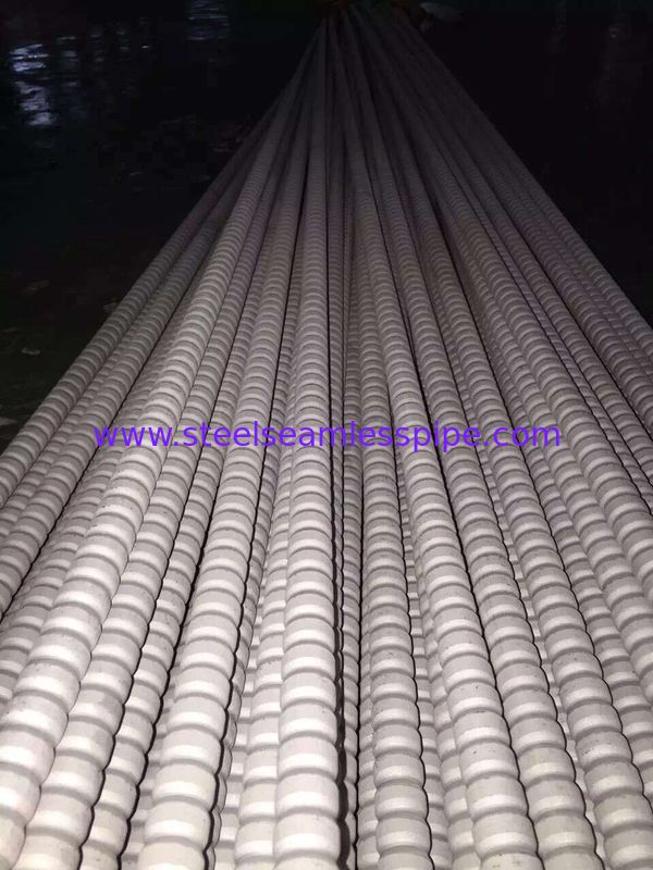TP304 / TP304L TP316 / TP316L Stainless Steel Corrugated Low Fin Tubes For Heat Exchangers