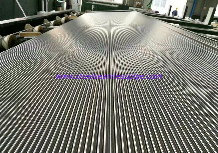 Bright Annealed Stainless Steel Tube :TP304, TP304L, TP316, TP316L, TP316Ti with Cold Press. Plain End with Plastic Cap