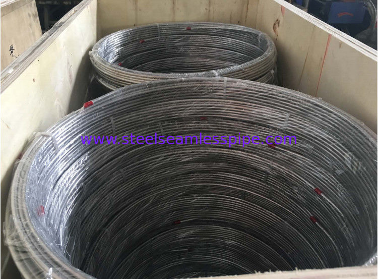 "Seamless Stainless Steel Pipe Coil A269 Tp316l 1/4"" For Petrol / Chemical"
